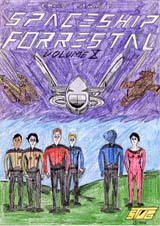 Spaceship Forrestal Volume 10 Cover